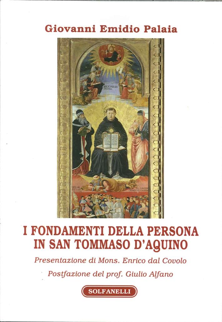 I fondamenti della persona in san Tommaso d'Aquino