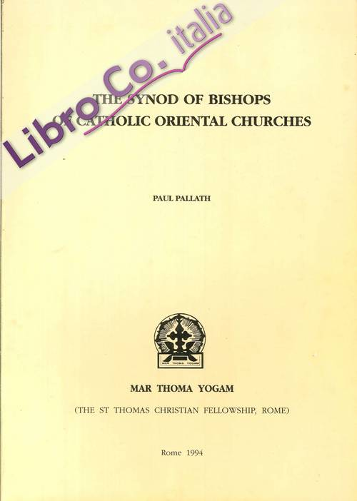 The Synod of Bishops of Catholic Oriental Churches.