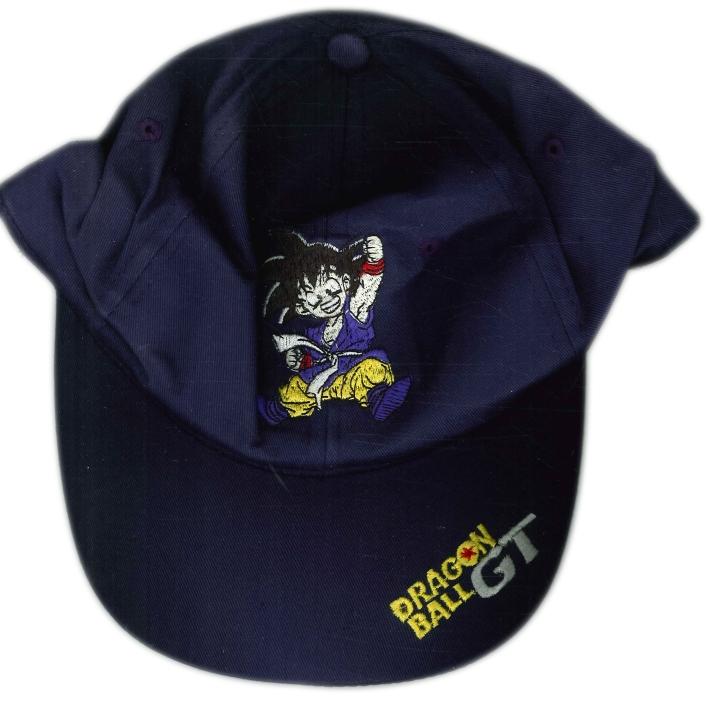 Cappellino Bimbo Dragon Ball Gt. Blu. Taglia Unica Regolabile