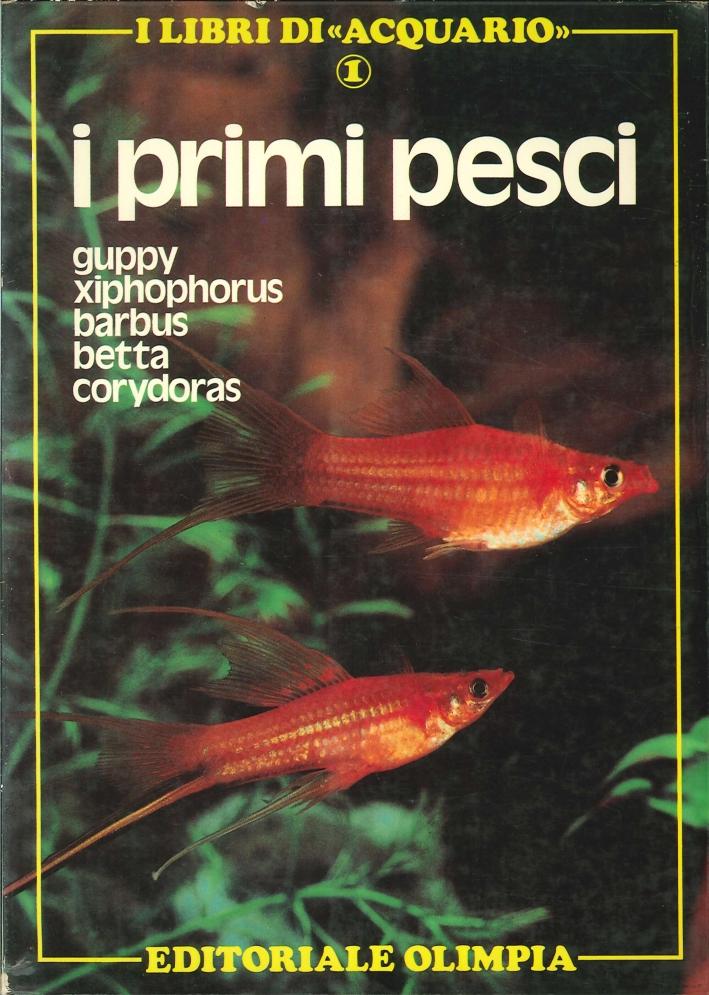 I Primi Pesci. Guppy, XIphophorus, Barbus, Betta, Corydoras.