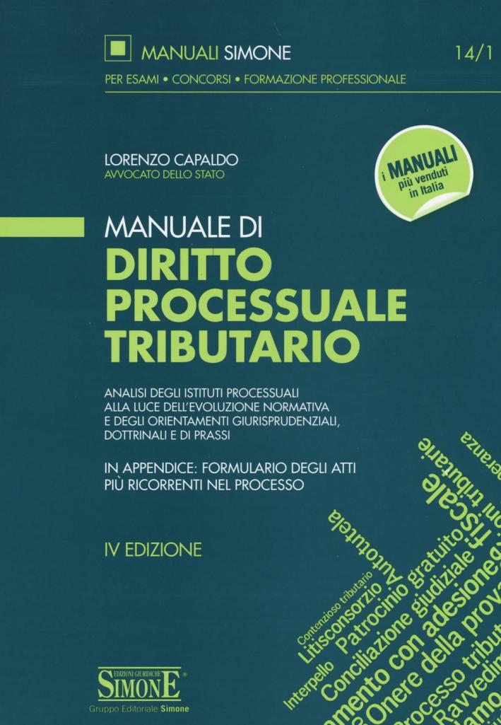 Manuale di diritto processuale tributario
