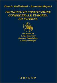 Progetto di costituzione confederale europea ed interna