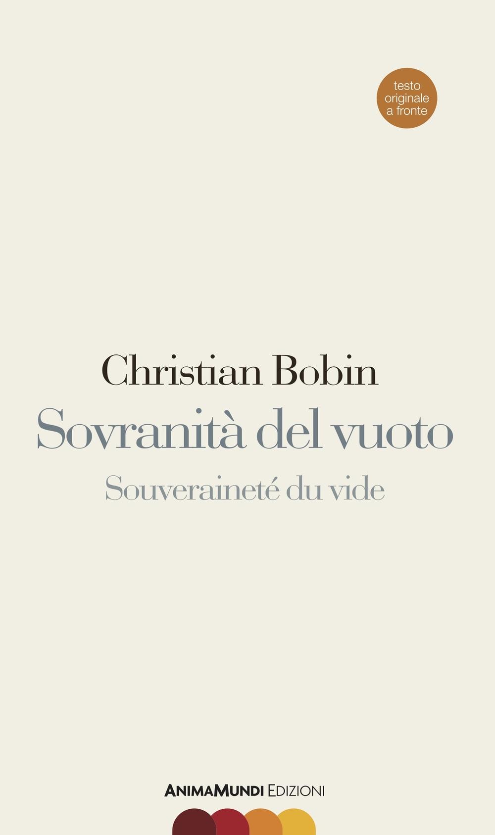 Sovranità del vuoto. Ediz. italiana e francese