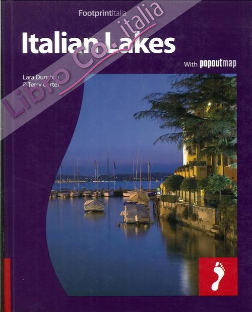 Italian Lakes. With Popout Map