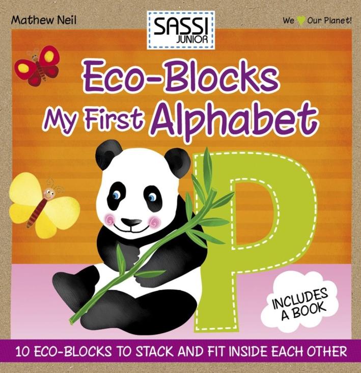My first alphabet. Eco-cubotti