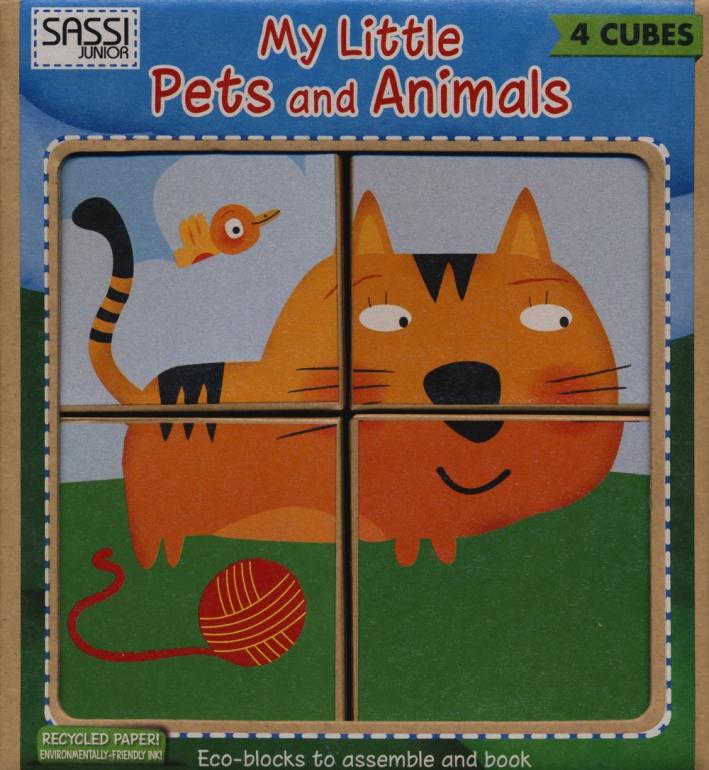My little pets and animals. Eco-cubotti. Ediz. illustrata