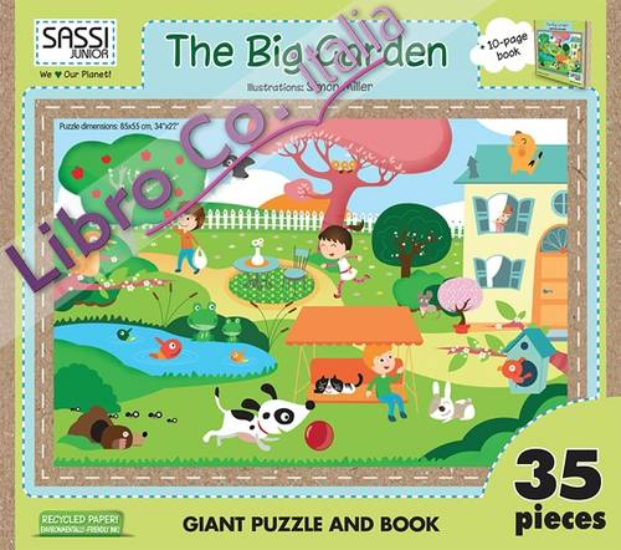 The big garden. Puzzle gigante. Ediz. illustrata. Con libro
