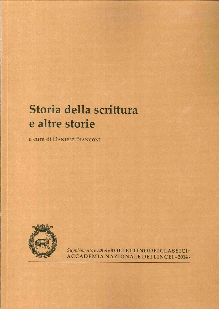 Storia della scrittura e altre storie