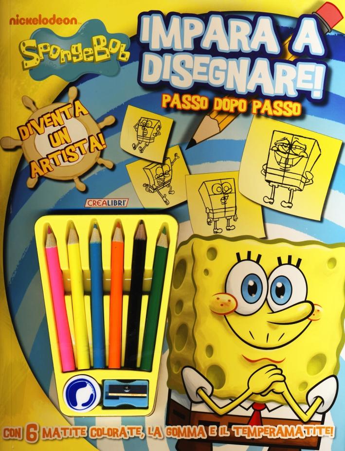 Impara a disegnare! SpongeBob. Ediz. illustrata. Con gadget