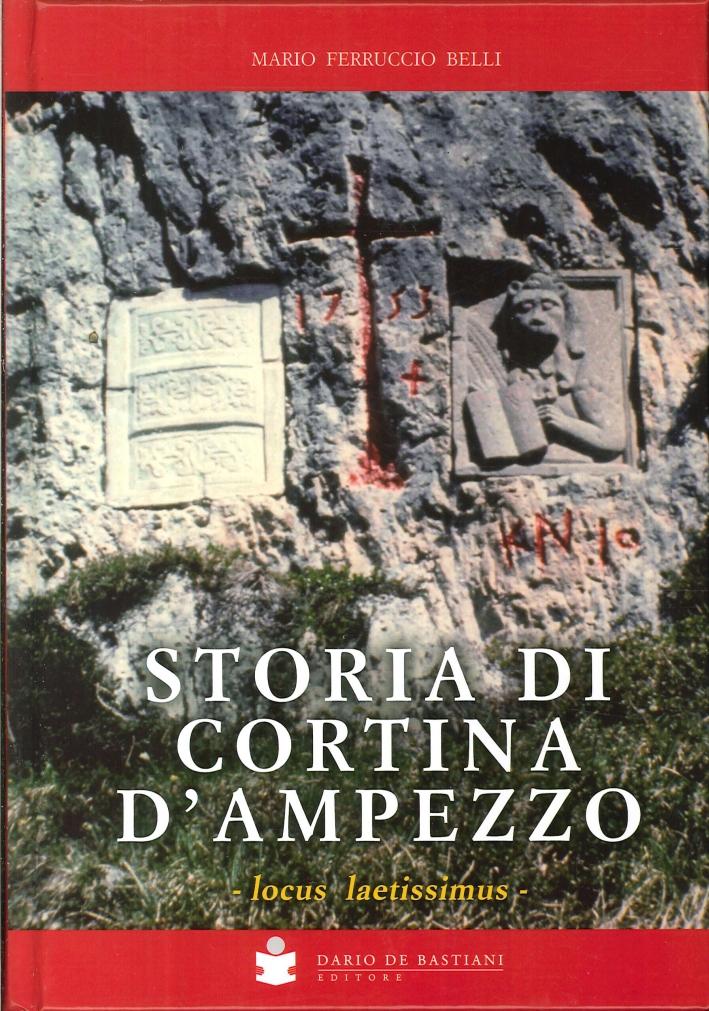 Storia di Cortina d'Ampezzo. Locus Laetissimus