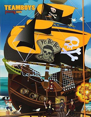 Pirates. Stickers House Teamboys. Con adesivi.