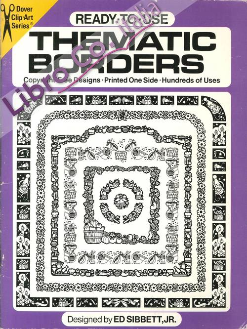 Thematic Borders. Printed One Side
