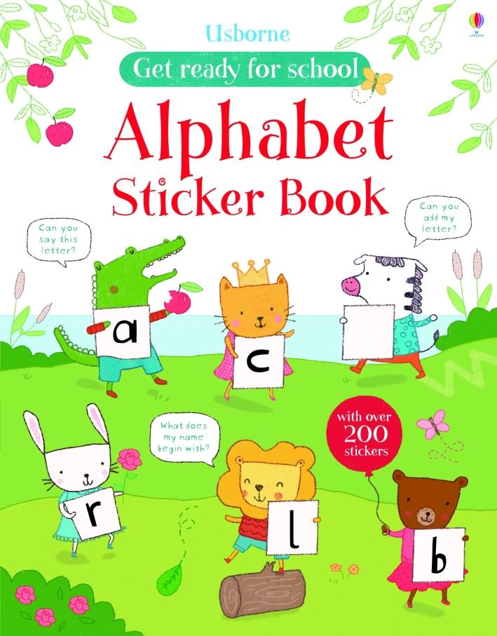 Alphabet Sticker Book.