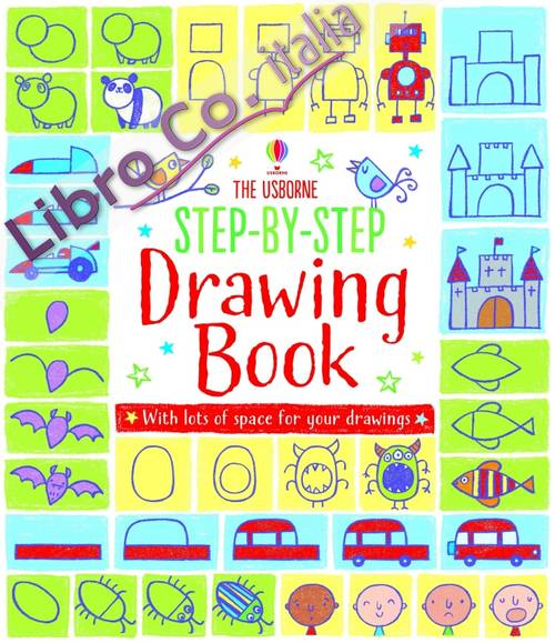 Step-by-Step Drawing Book.