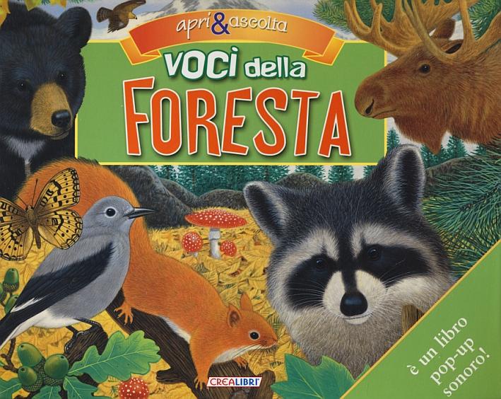 Voci della foresta. Libro sonoro e pop-up. Ediz. illustrata
