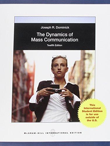 The dynamics of mass comunication