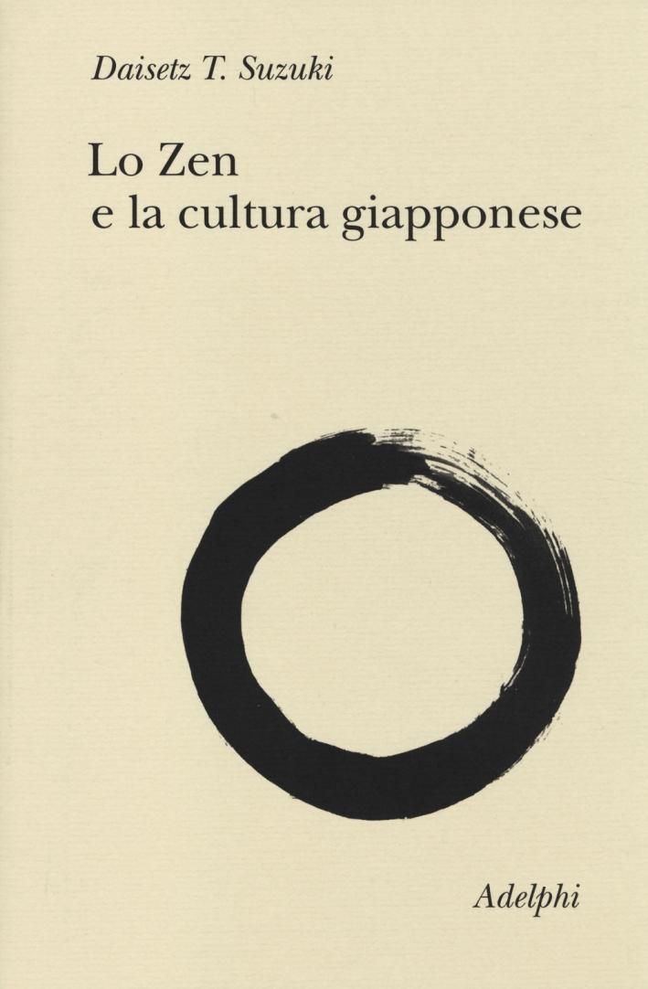 Lo zen e la cultura giapponese.