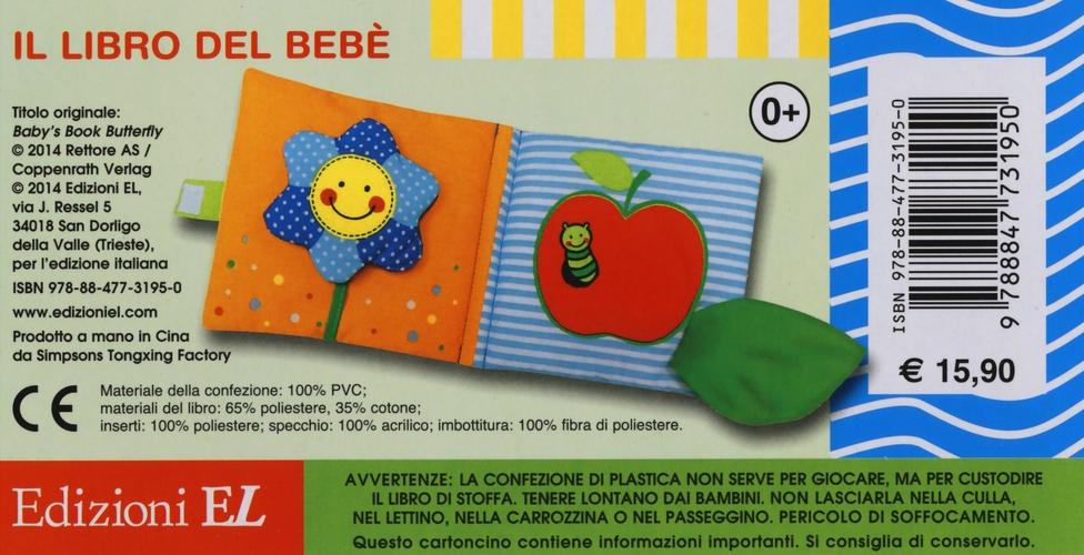Il libro del bebè. Farfalla rossa. Ediz. illustrata
