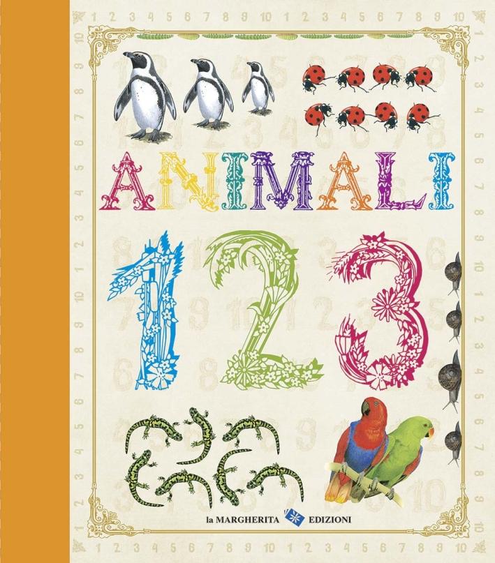 Animali. 123. Ediz. illustrata