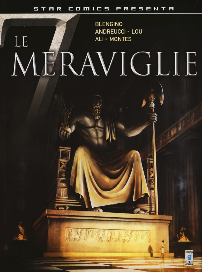 La statua di Zeus. 432 a. C.-I giardini di Babilonia. 585 a. C. Le 7 meraviglie. Vol. 1