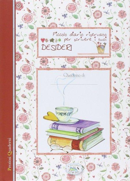 Piccolo quaderno riservato per scrivere i tuoi desideri