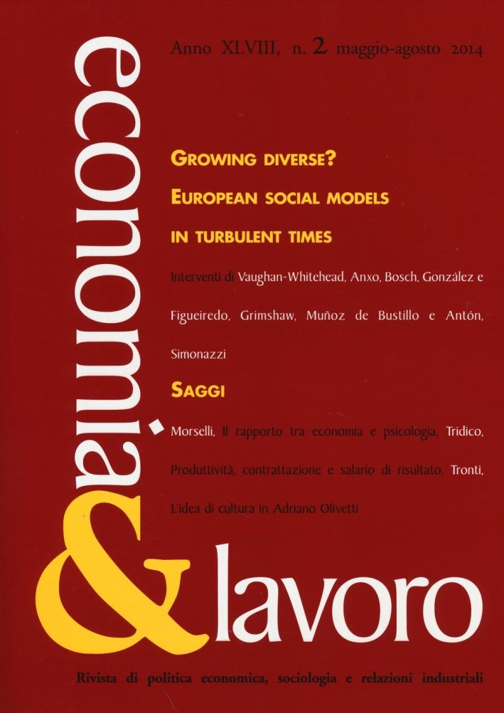 Economia & lavoro (2014). Vol. 2.