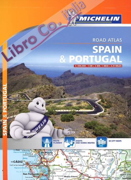 Spain & Portugal. Road atlas 1:400.000.
