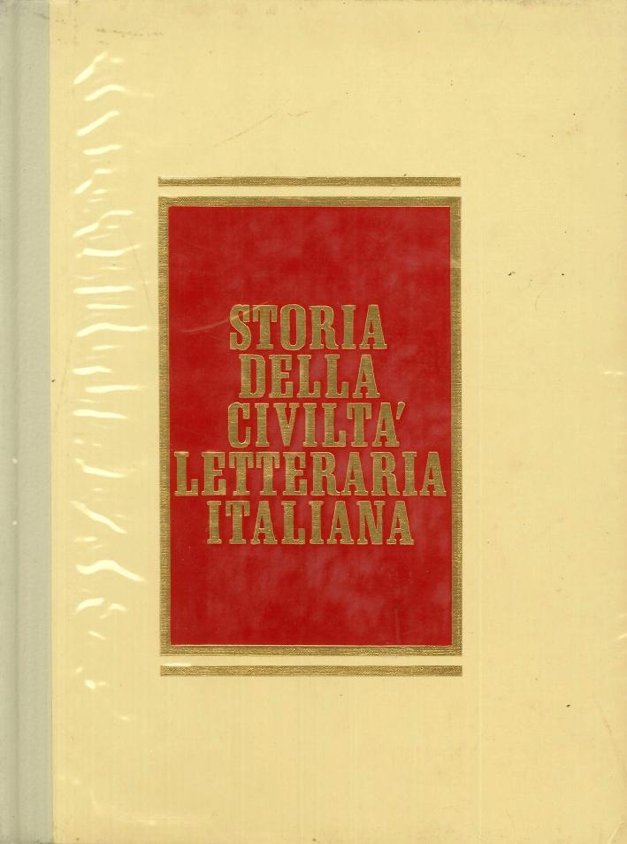 Storia della Civiltà Letteraria Italiana. 6 Volumi + Dizionario/Cronologia. [Opera Completa].