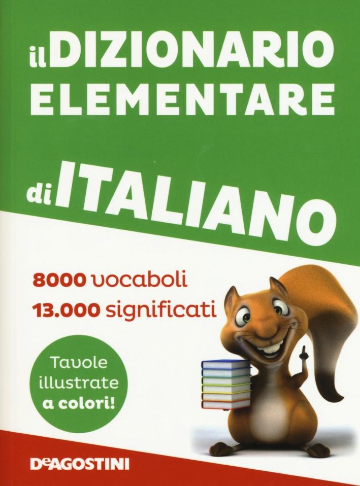 Il dizionario elementare di italiano.