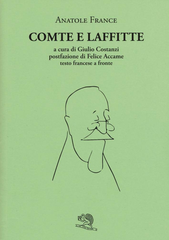 Comte e Laffitte. Testo francese a fronte.