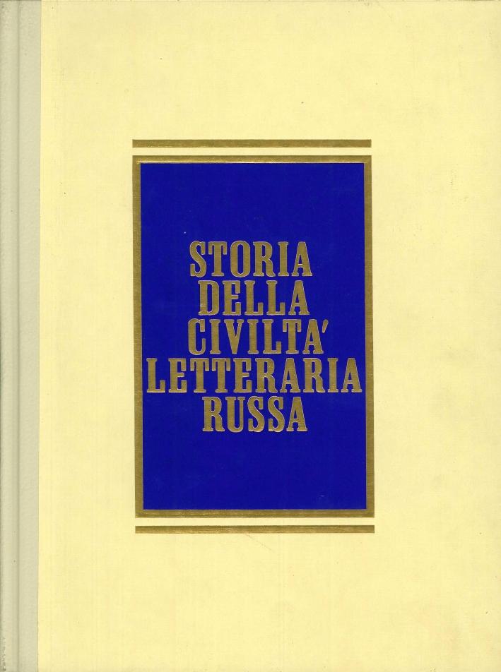 Storia delle Civiltà Letterario Russa. 2 Volumi
