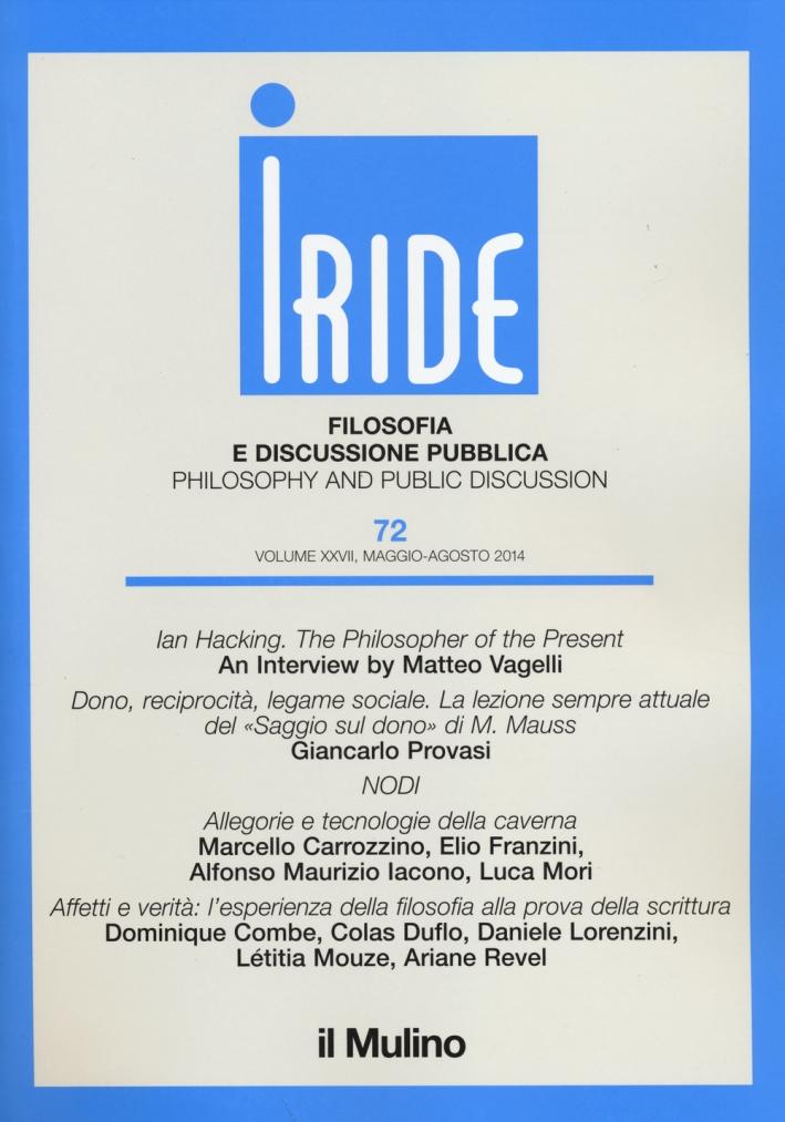 Iride (2014). Vol. 2