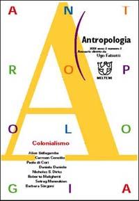 Antropologia. Il colonialismo