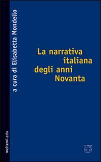 La narrativa italiana degli anni Novanta