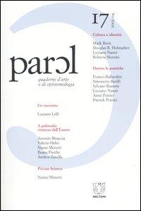 Parol. Quaderni d'arte e di epistemologia (2003-2004). Vol. 17