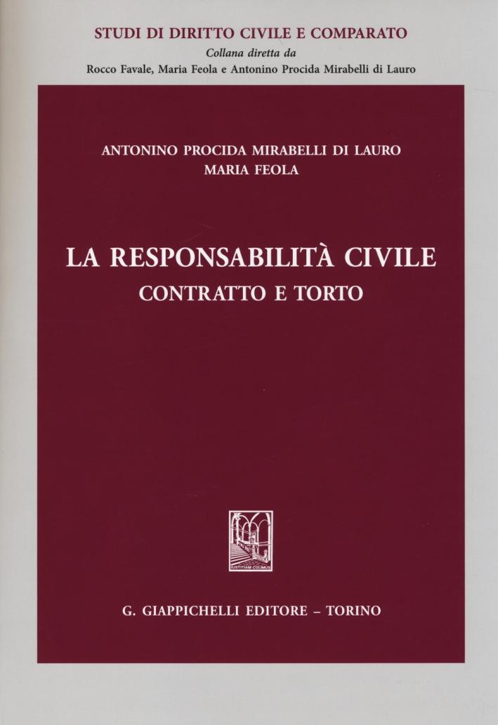 La Responsabilità Civile. Contratto e Torto