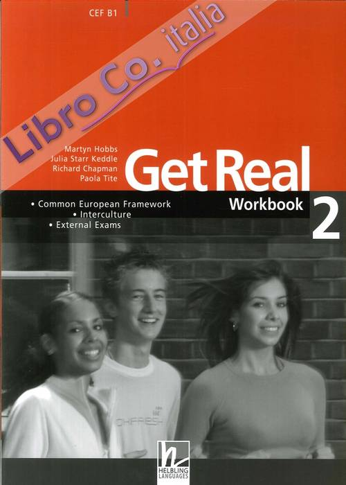 Get Real. Student's Book. 2. Workbook 2 + Student's Audio CD.  [With 2 CD-ROM]