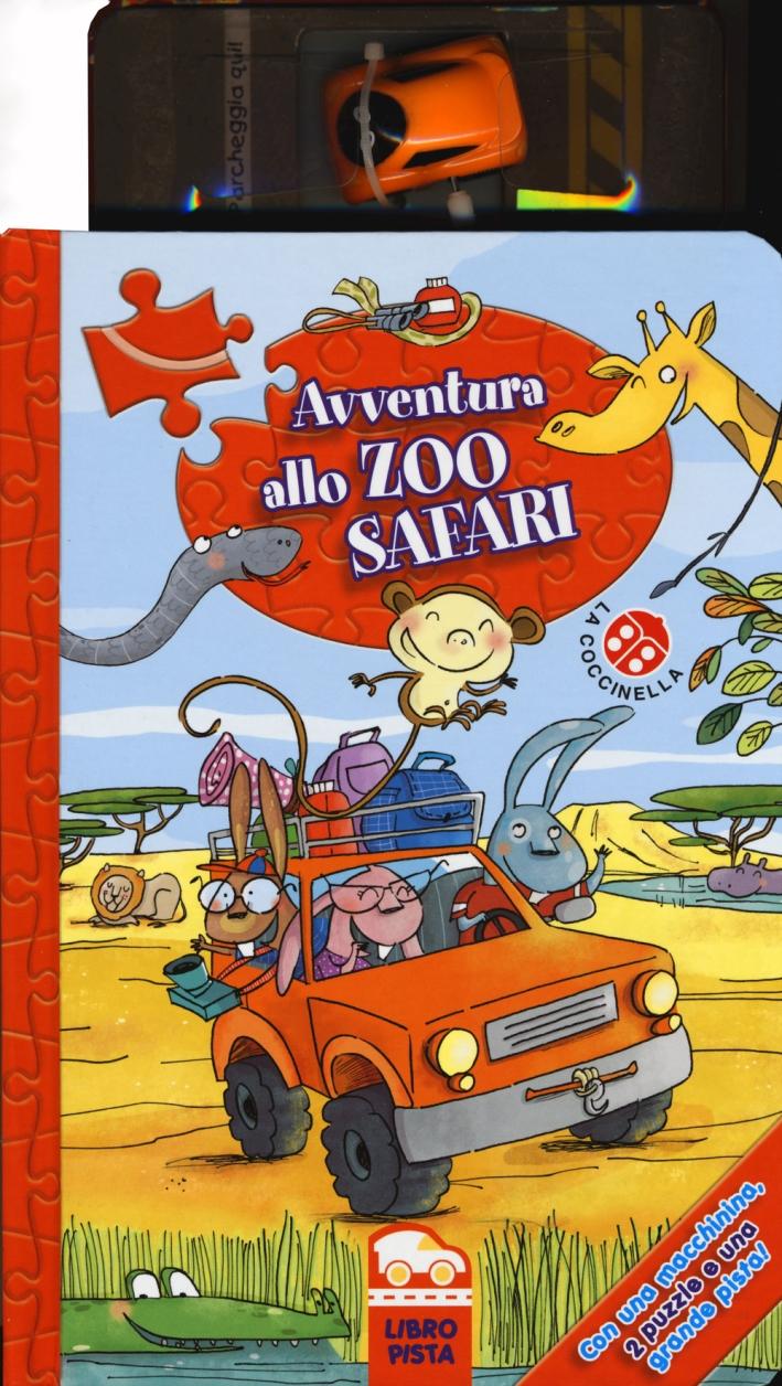 Avventura allo zoo safari. Con gadget