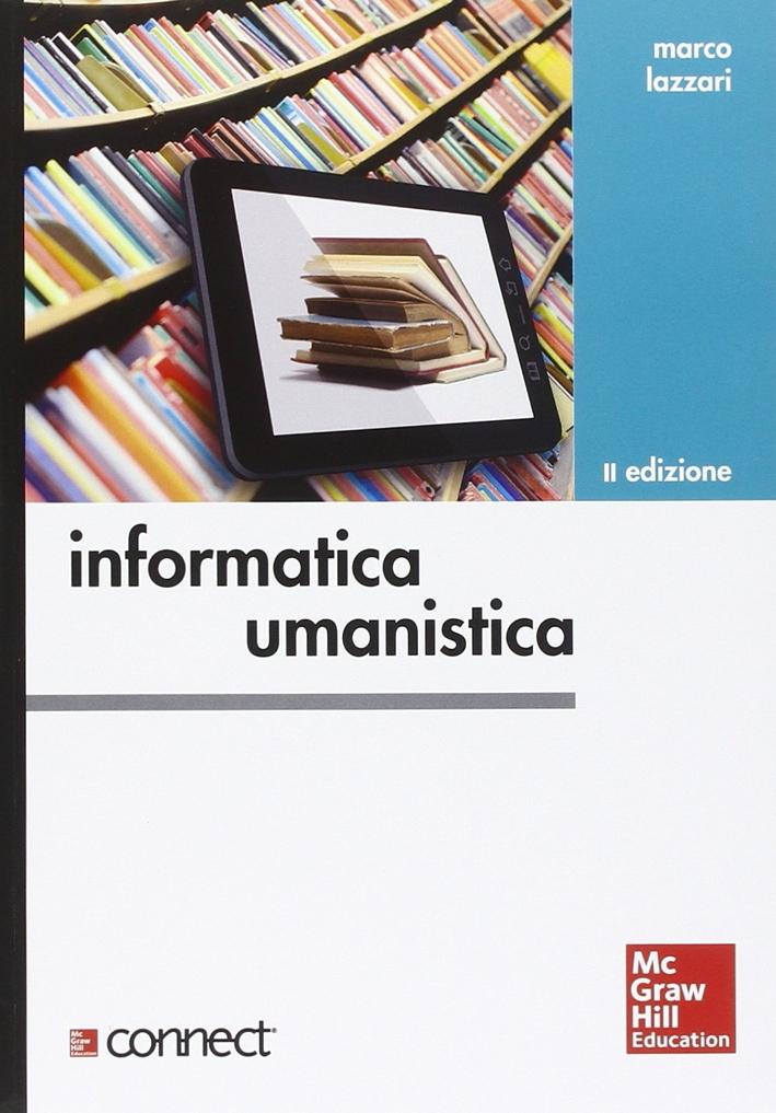Informatica umanistica.