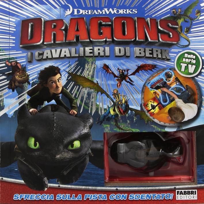 La pista dei draghi. Dragons. I cavalieri di Berk. Ediz. illustrata. Con gadget