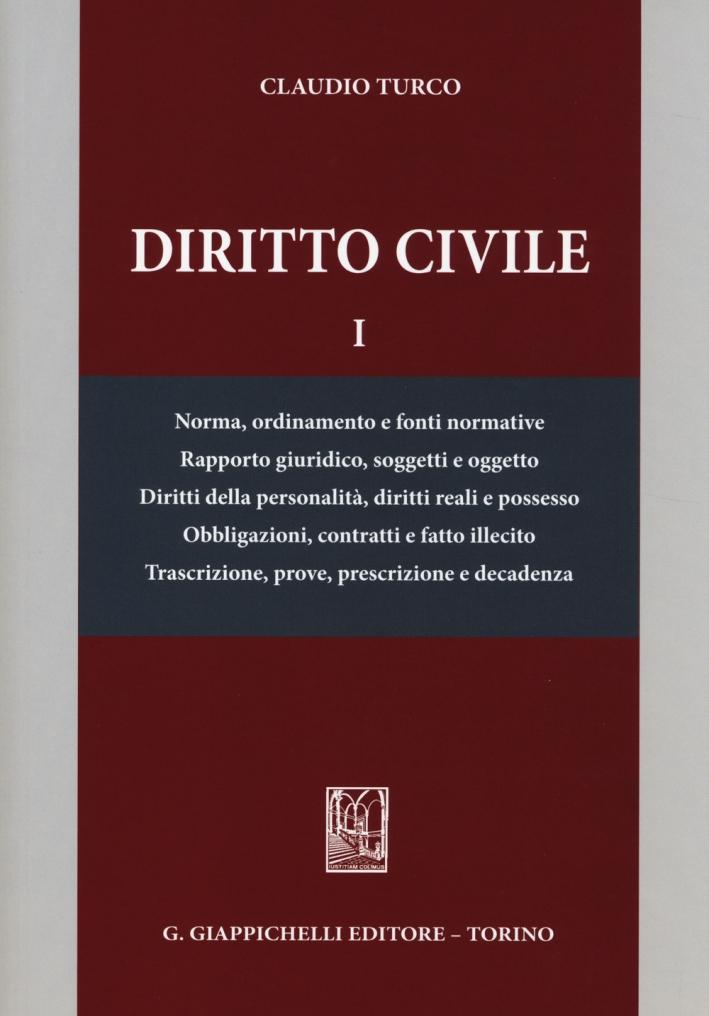Diritto Civile. Vol. 1