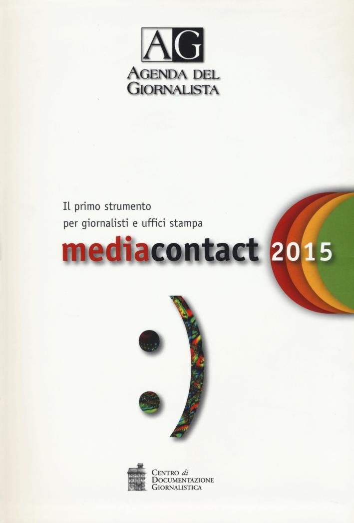Agenda del giornalista 2015. Media contact