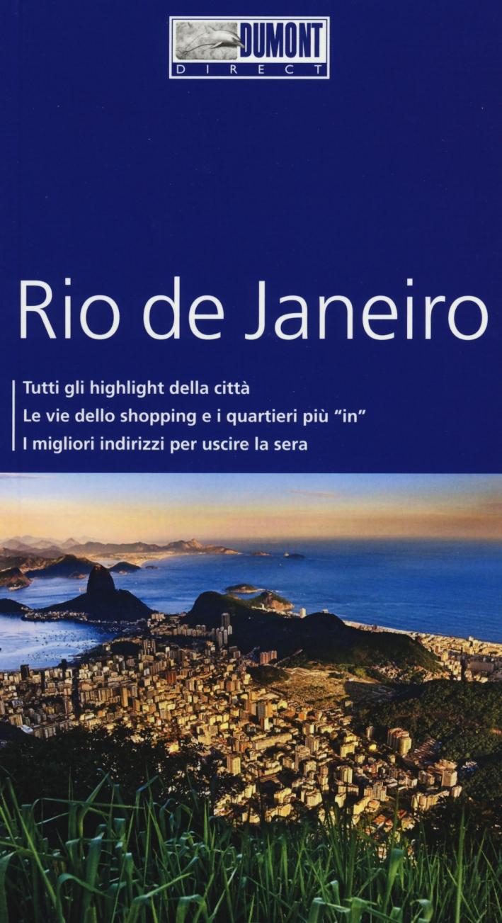 Rio de Janeiro. Con mappa