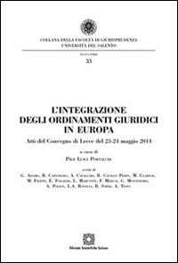 L'integrazione degli ordinamenti giuridici in Europa