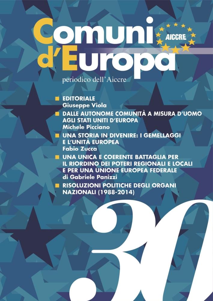 Comuni d'Europa. Vol. 30