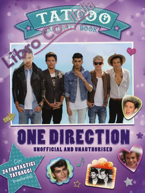 One Direction. Tattoo activity book. Unofficial and unauthorised.