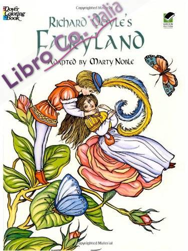 Richard Doyle's Fairyland Coloring Book.