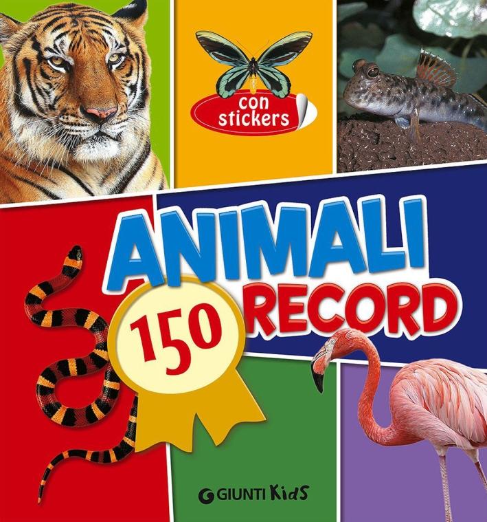 Animali. 150 record. Con adesivi.