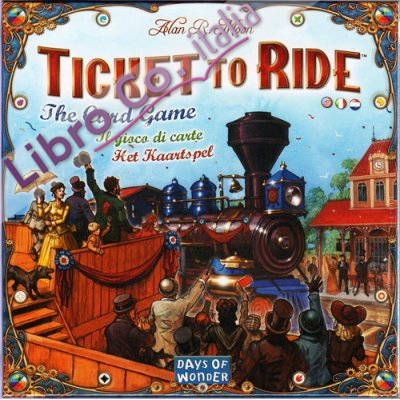Ticket To Ride. The Card Game