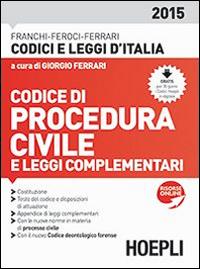 Codice di Procedura Civile 2015